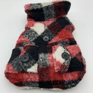 Bailey & Bell Dog Winter Jacket Plaid Sz: XXS